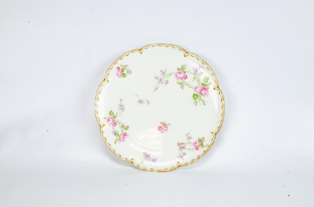 Vintage Haviland Limoges Rose Themed Porcelain - 4