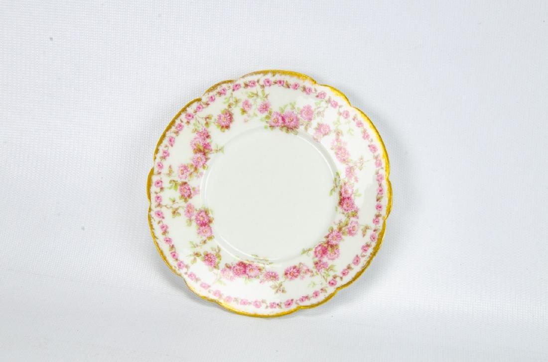 Vintage Haviland Limoges Rose Themed Porcelain - 8