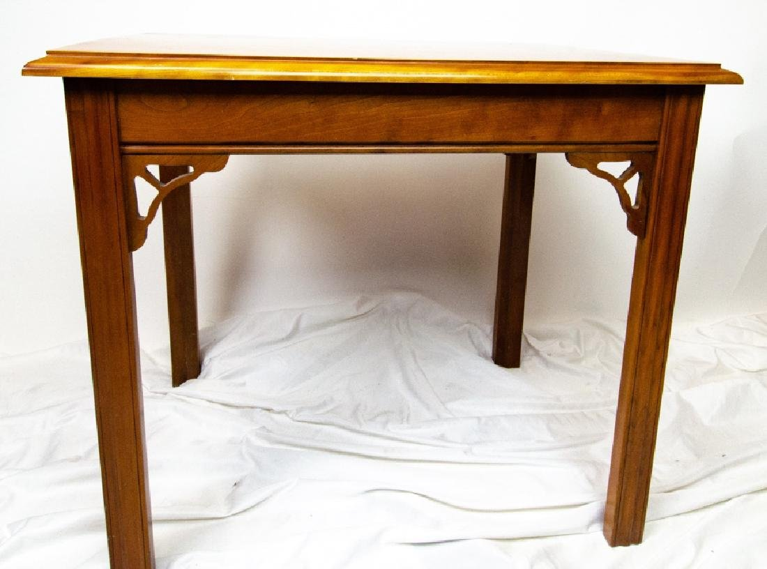 Harden Carved Mahogany End / Side Table