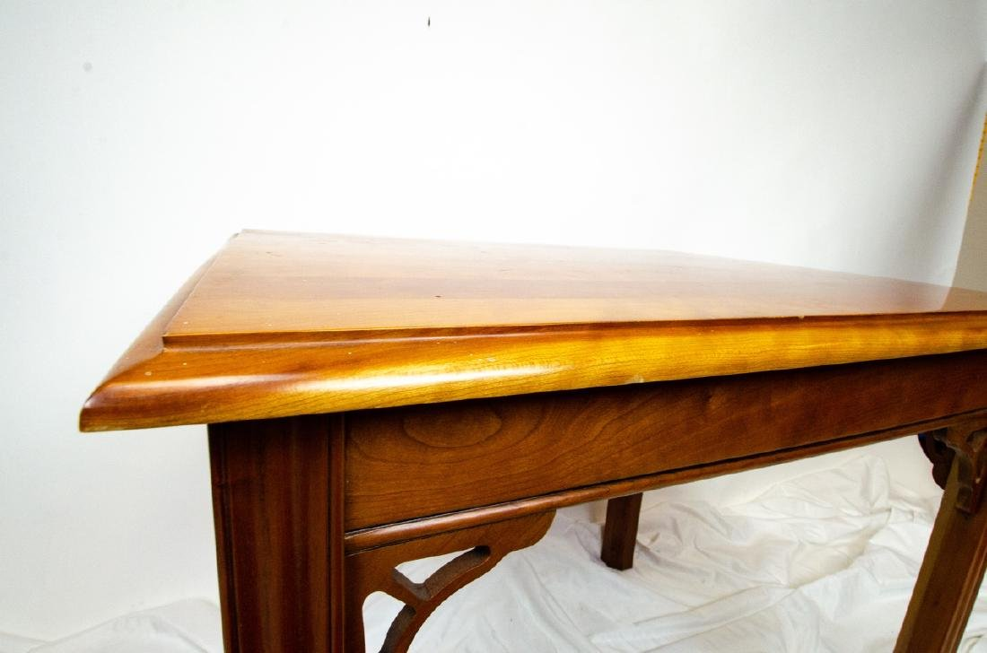 Harden Carved Mahogany End / Side Table - 2