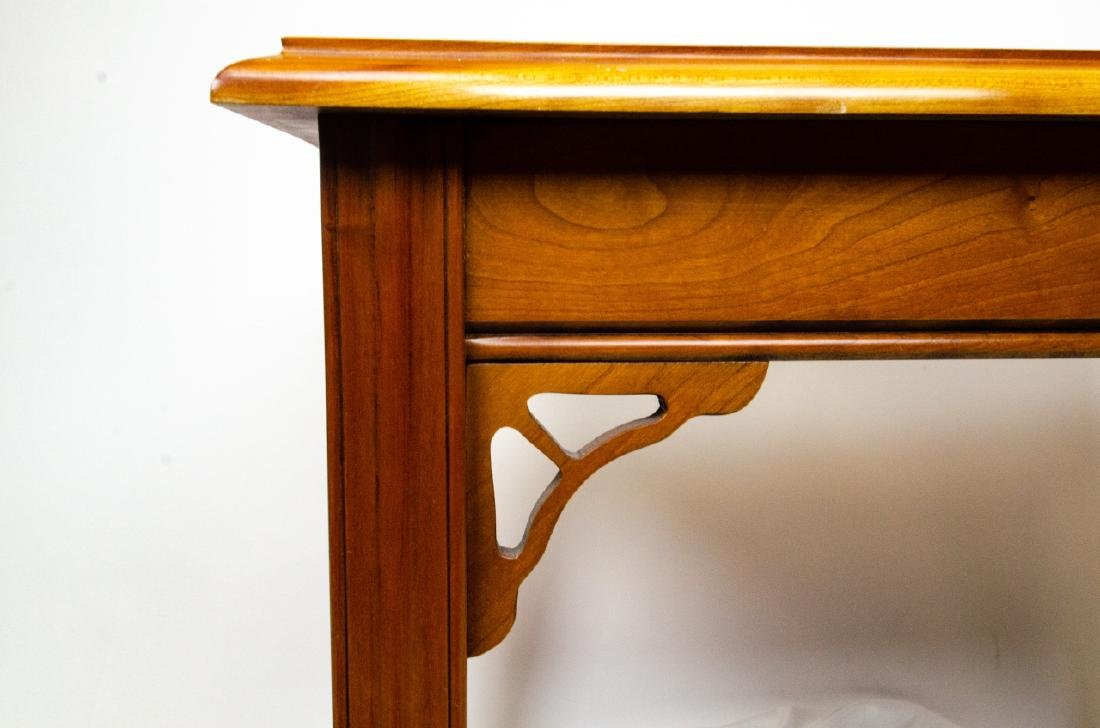 Harden Carved Mahogany End / Side Table - 3