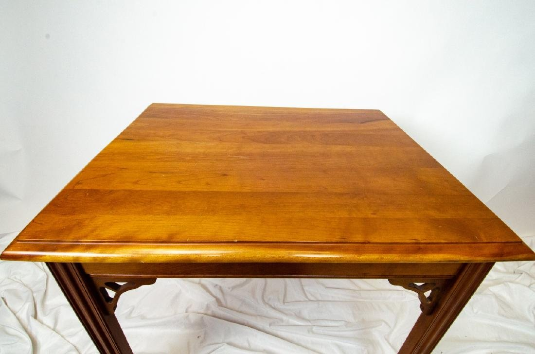 Harden Carved Mahogany End / Side Table - 5