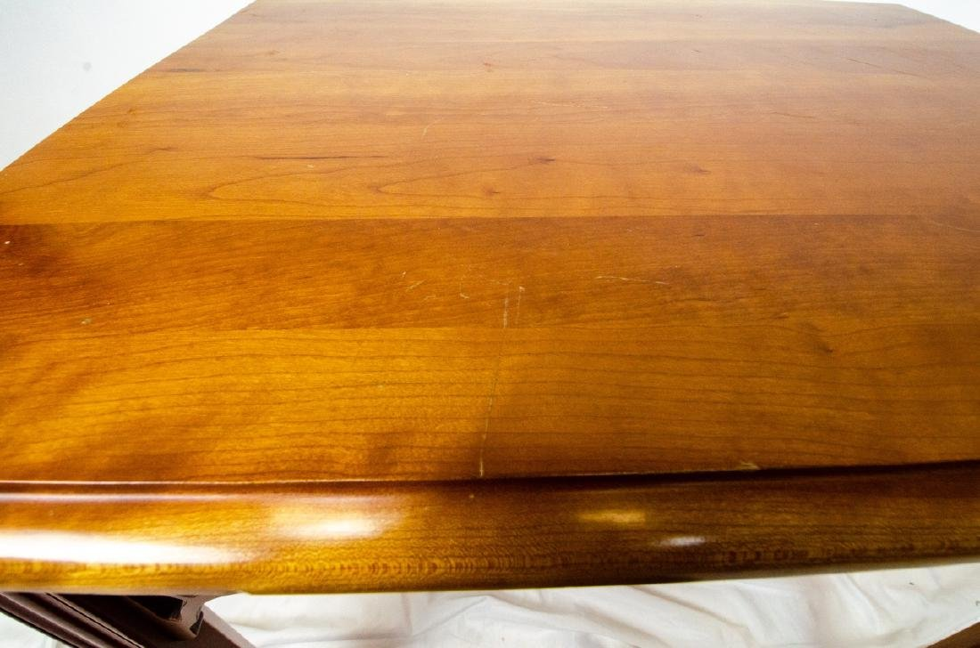 Harden Carved Mahogany End / Side Table - 6