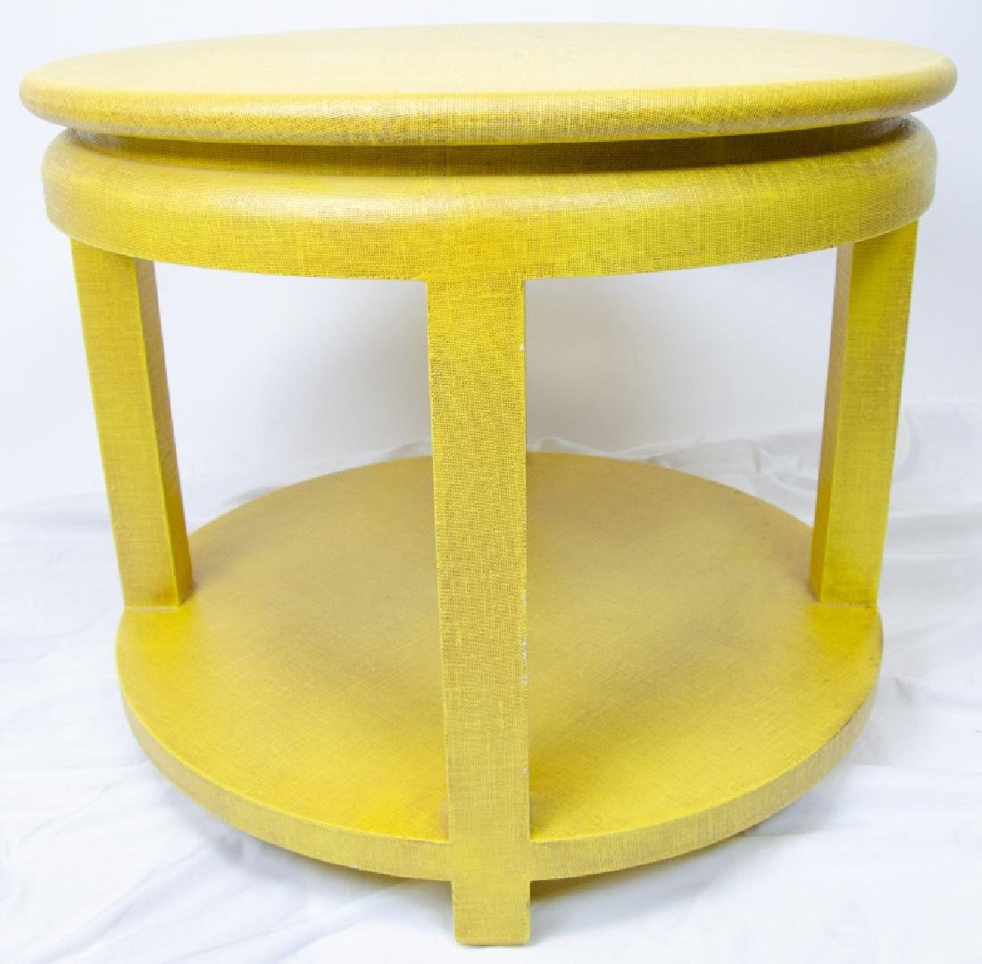 Minic Custom Woodwork Lacquered End / Side Table