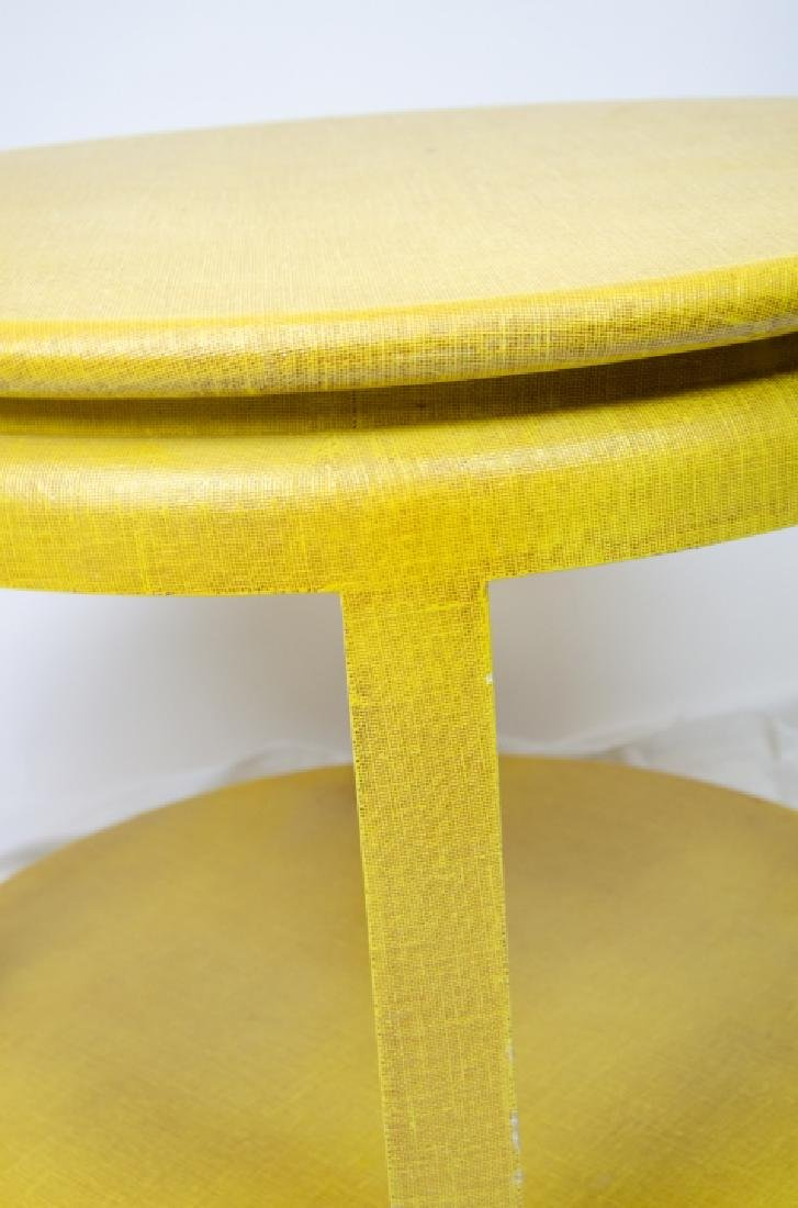 Minic Custom Woodwork Lacquered End / Side Table - 2