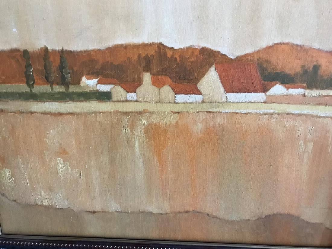 Contemporary Tonal Landscape Painting on Canvas - 2