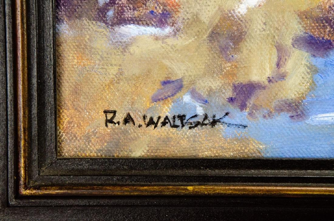 Robert A. Waltsak Winter Landscape Oil Painting - 3