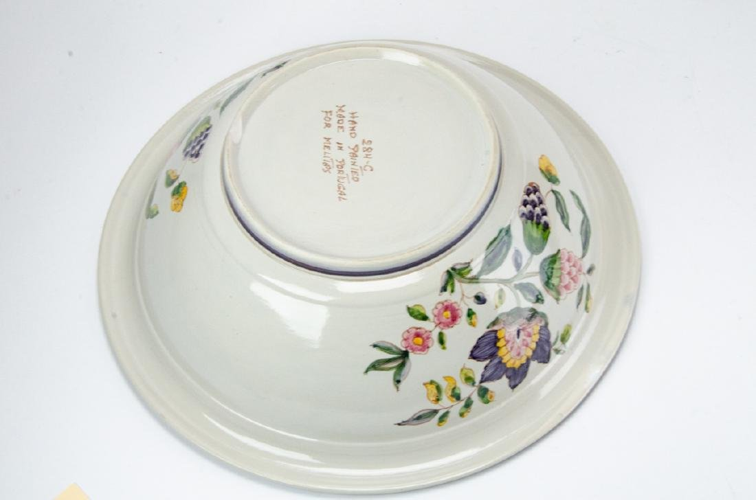 Hand Painted Pottery Pitcher & Wash Basin - 7