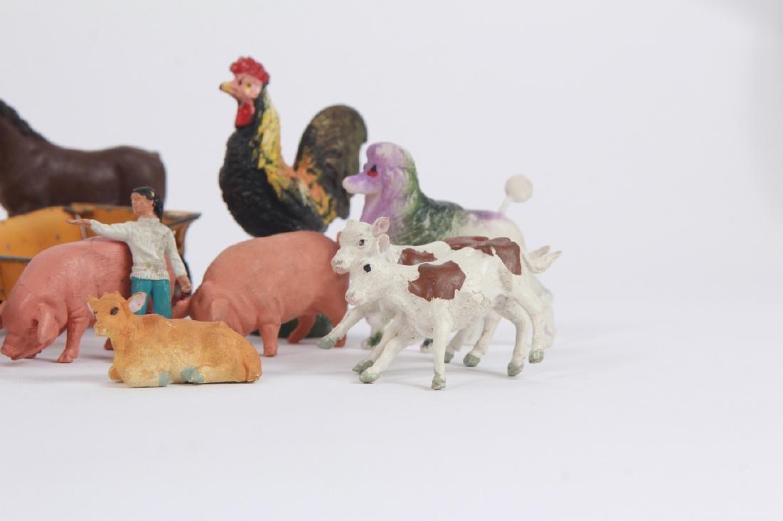 Antique Vintage Toys Britains Figures & Tootsietoy - 8