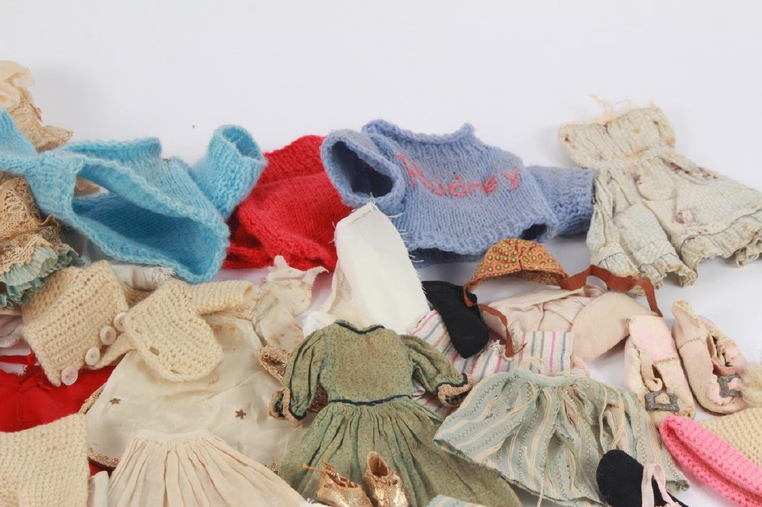 Collection of Antique & Vintage Doll Clothing - 3