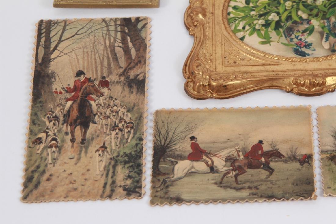 Antique Dollhouse Artwork Including Ormolu Frames - 2