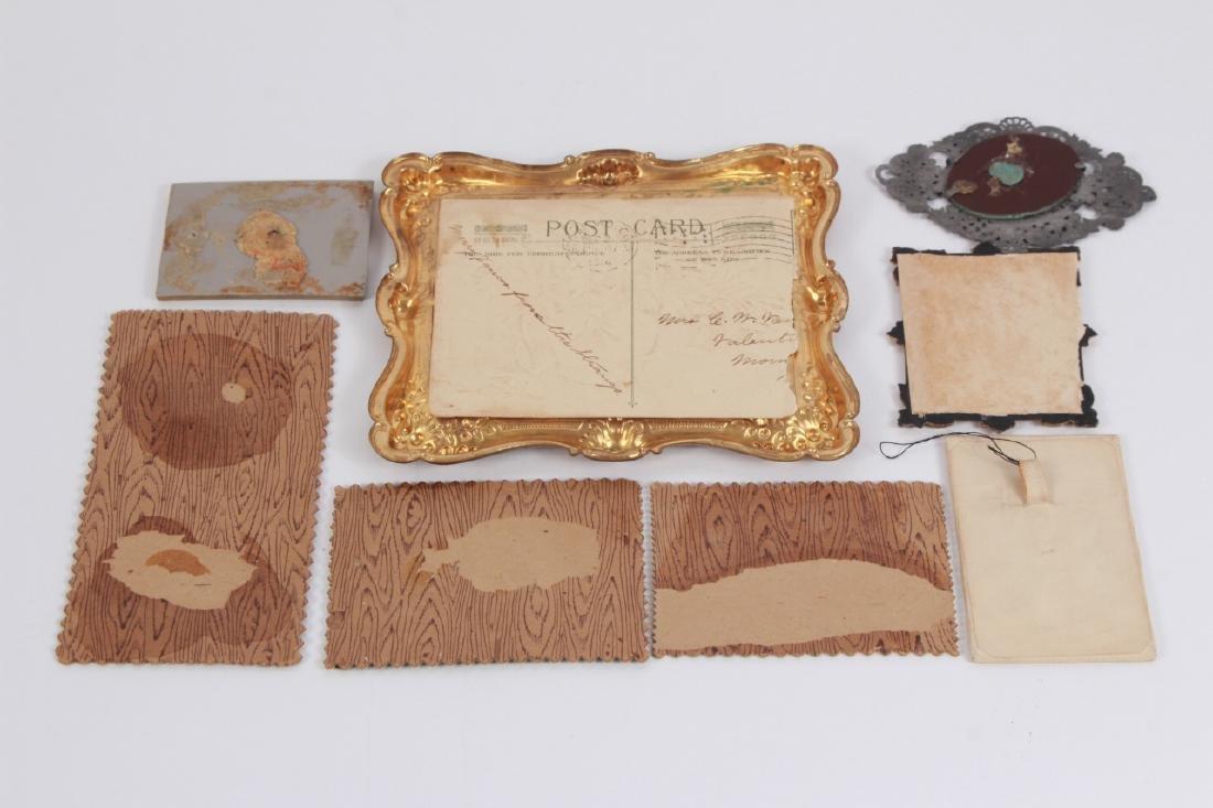 Antique Dollhouse Artwork Including Ormolu Frames - 7