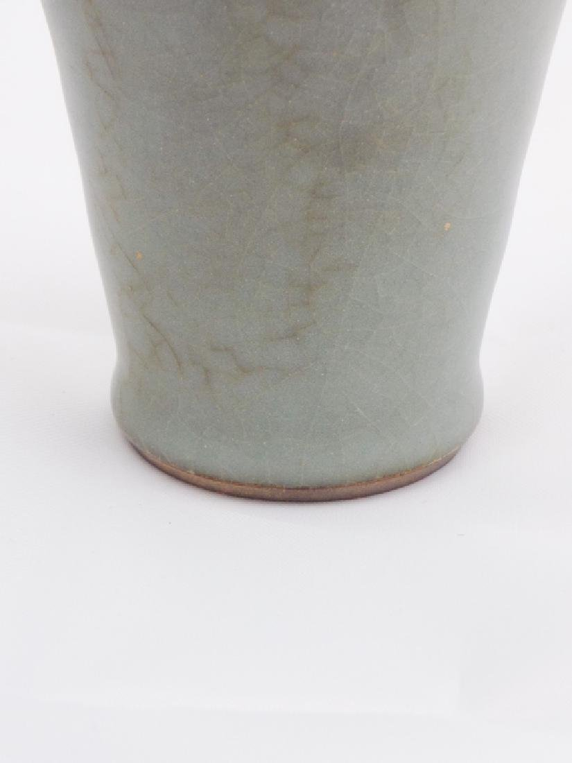 Chinese Song Dynasty Crackleware Porcelain Vase - 4