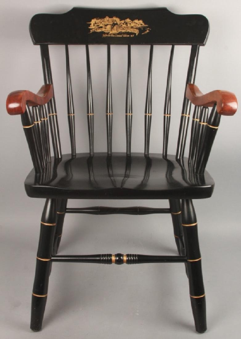 Hitchcock Style Jefferson Pine Arm Chair