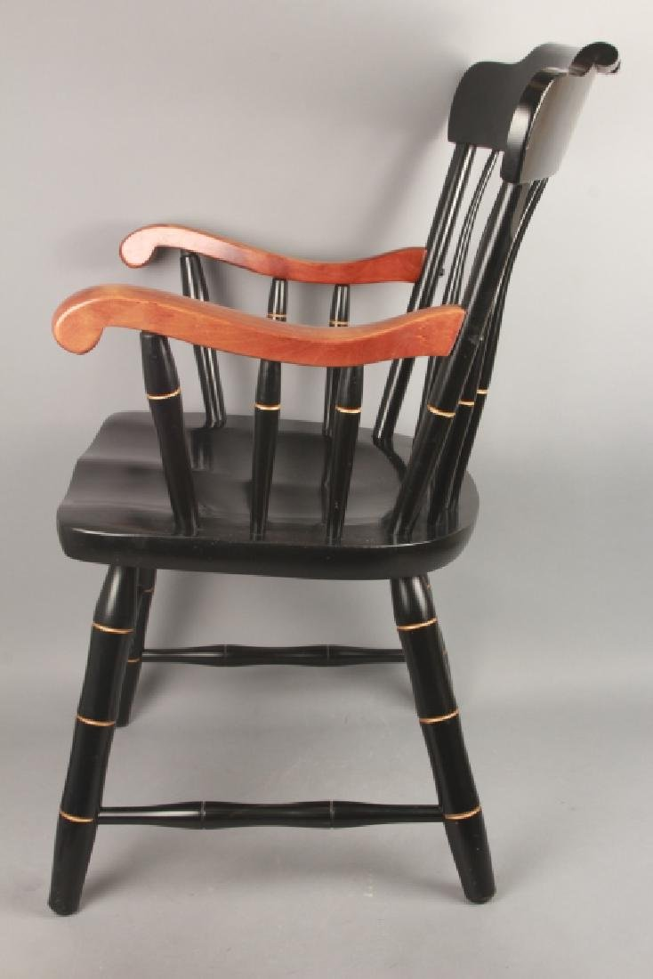 Hitchcock Style Jefferson Pine Arm Chair - 3