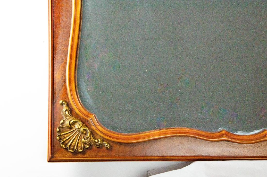 Neoclassical Style Carved Wood & Gilt Mirror - 2