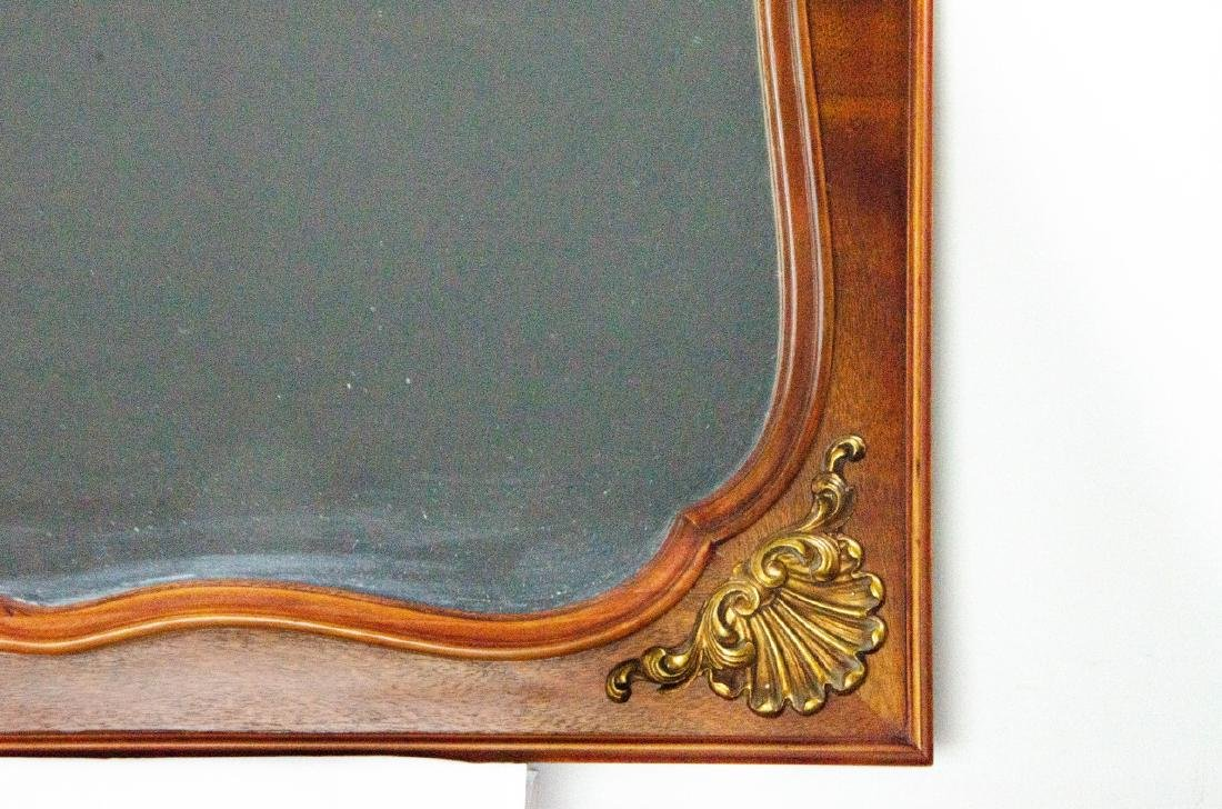 Neoclassical Style Carved Wood & Gilt Mirror - 5