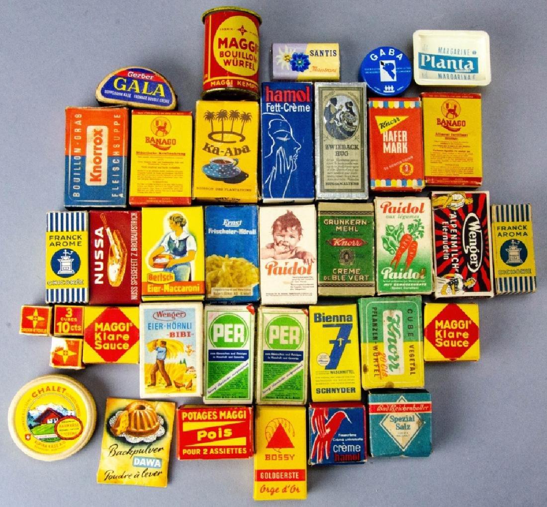 Group Dollhouse Miniature Kitchen Room Box Items