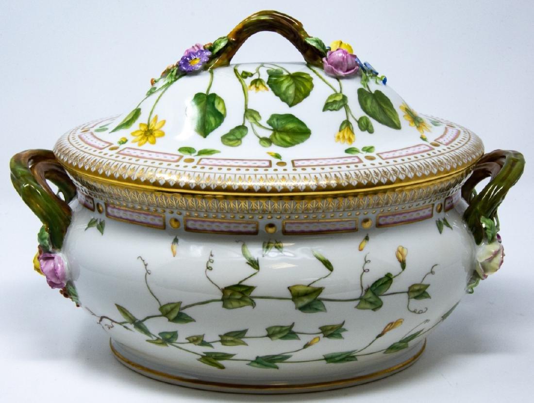 Royal Copenhagen Flora Danica Porcelain Tureen