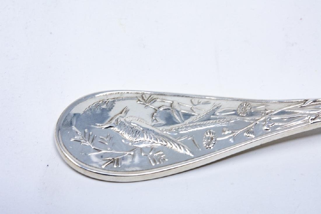 Tiffany & Co Sterling Silver Audubon Serving Spoon - 7