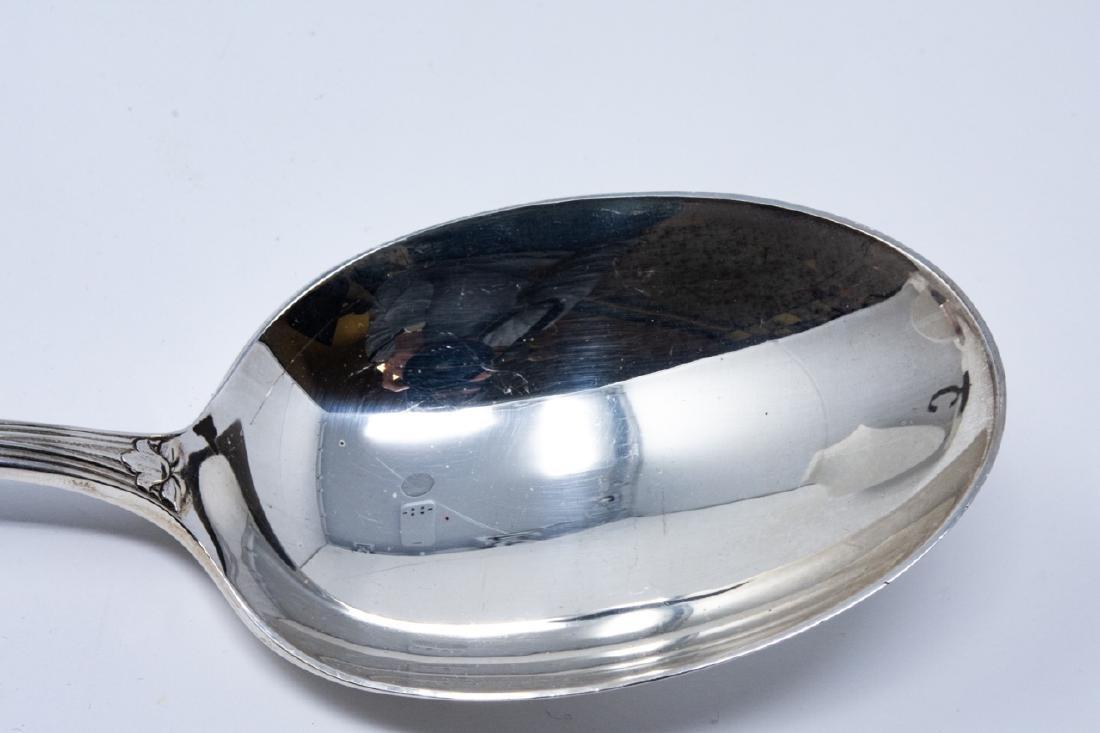 Tiffany & Co Sterling Silver Audubon Serving Spoon - 9