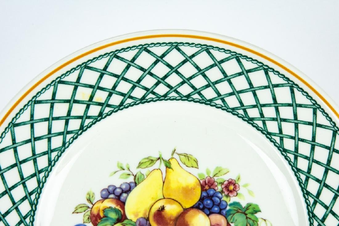 Six Villeroy & Boch Country Collection Plates - 6