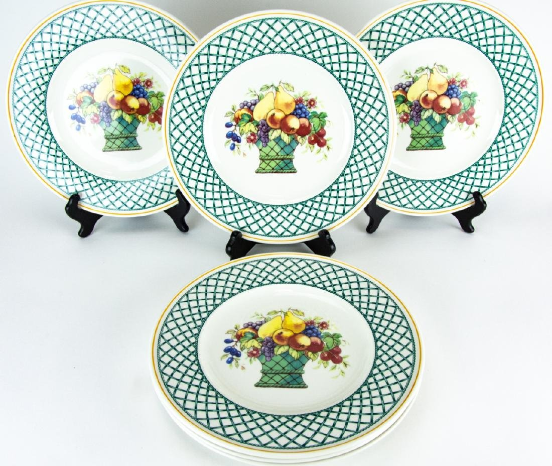 Six Villeroy & Boch Country Collection Plates