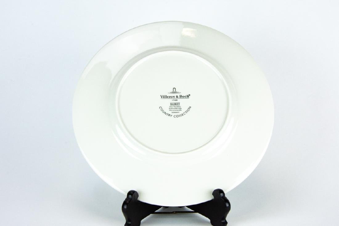 Six Villeroy & Boch Country Collection Plates - 3