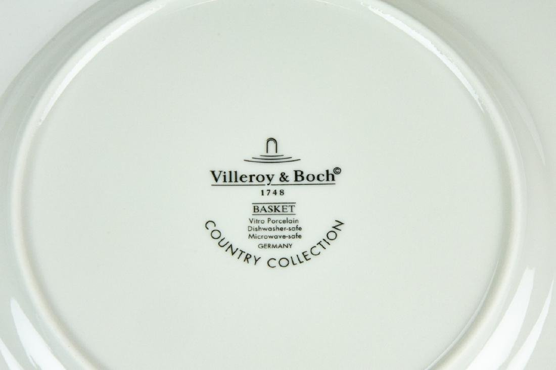 Six Villeroy & Boch Country Collection Plates - 4