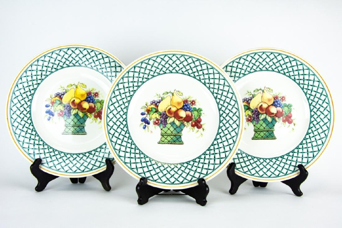 Six Villeroy & Boch Country Collection Plates - 5