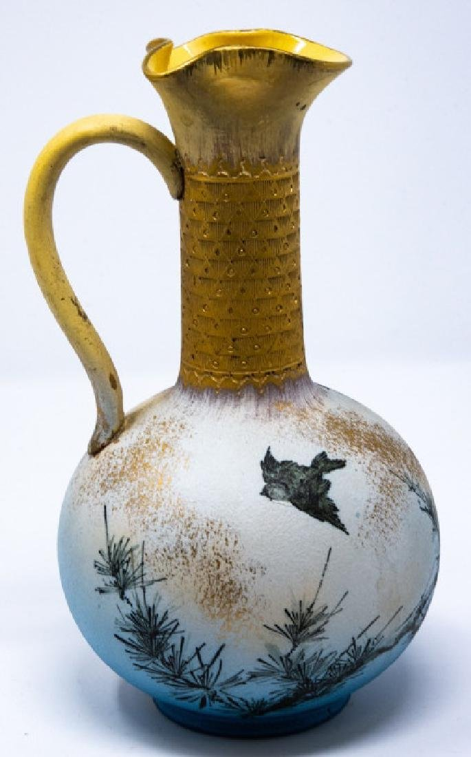 Rookwood 1886 Art Pottery Hand Painted Ewer