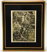 Antique Albrecht Durer Professionally Framed Print