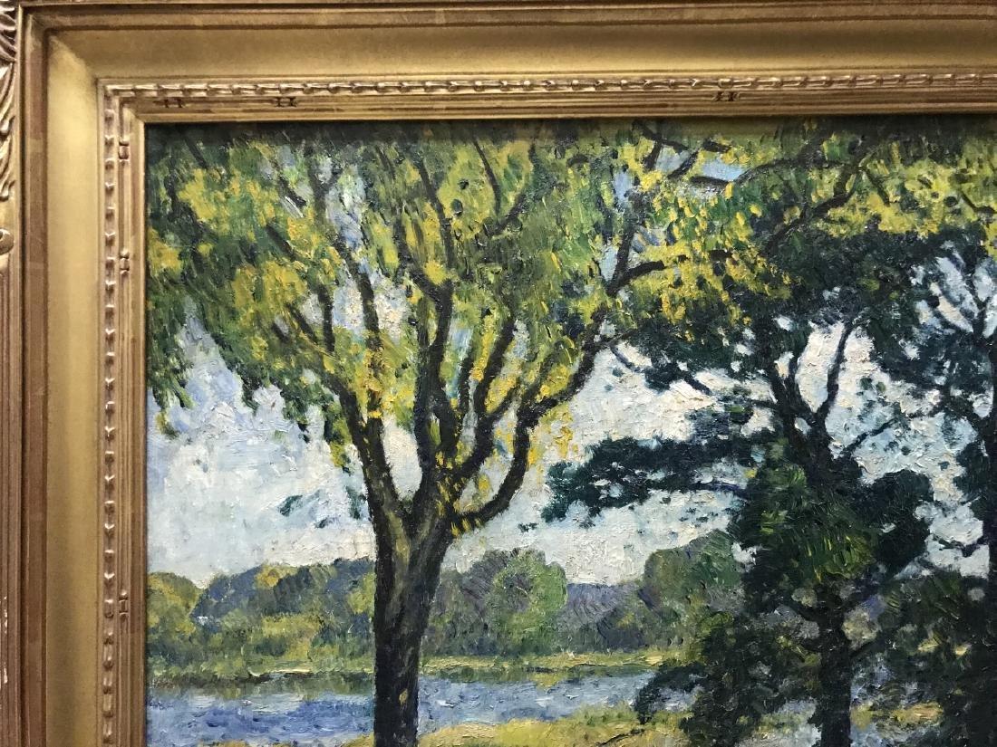 Guy C Wiggins - Landscape Oil Painting on Canvas - 4
