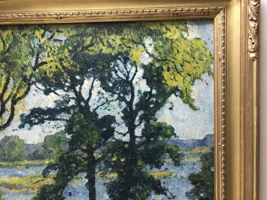 Guy C Wiggins - Landscape Oil Painting on Canvas - 5