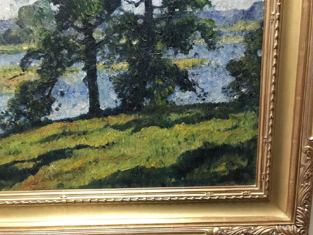 Guy C Wiggins - Landscape Oil Painting on Canvas - 6