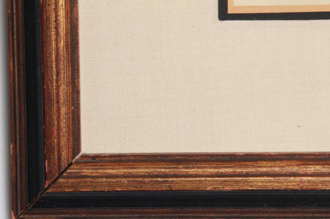Edgar Degas Framed Engraving of a Nude - 6