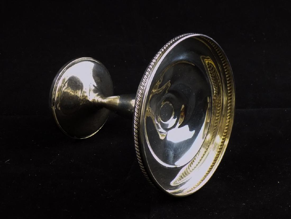 Trio of Sterling Silver & Glass Serve Ware Pieces - 5