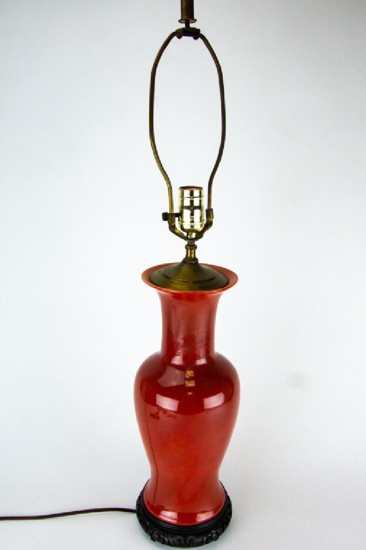 3 Vintage Vase and Ginger Jar Form Lamps on Bases - 2
