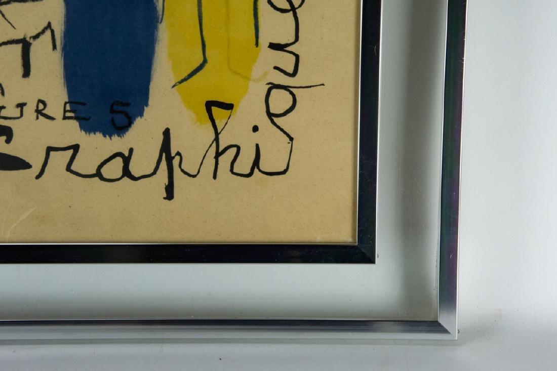 Mid Century Framed Joan Miro Print - 10