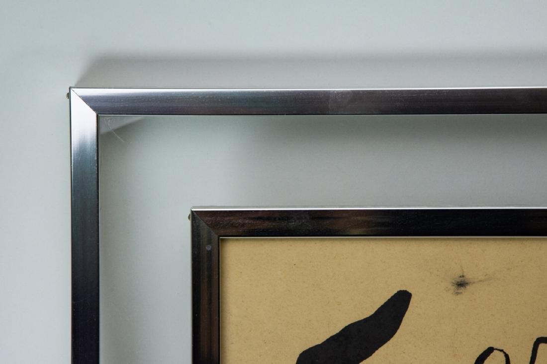Mid Century Framed Joan Miro Print - 3
