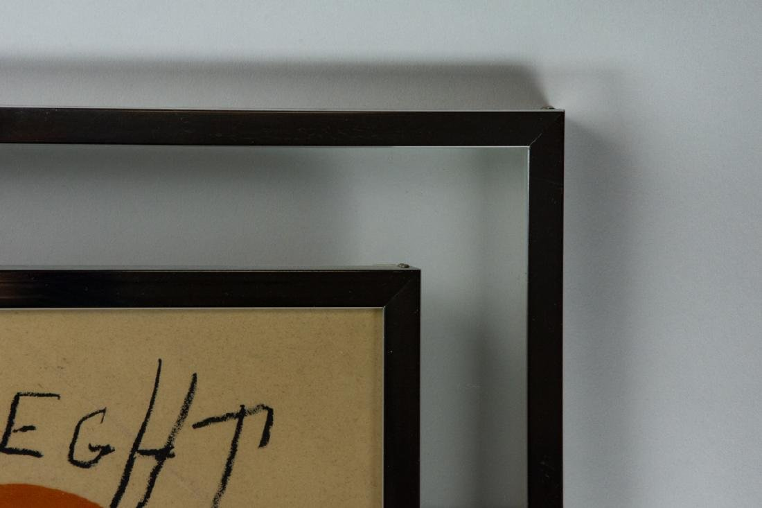 Mid Century Framed Joan Miro Print - 4