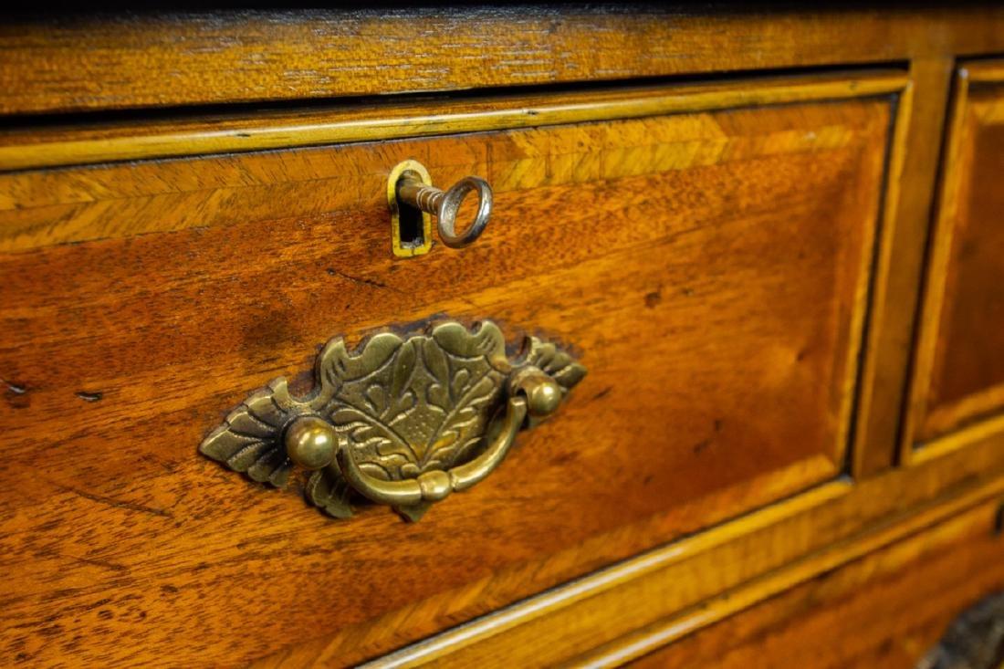 Queen Anne Style 7 Drawer Bureau / Dresser - 10