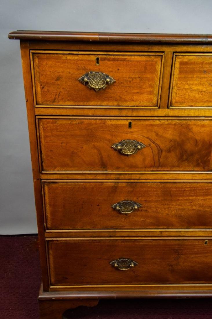 Queen Anne Style 7 Drawer Bureau / Dresser - 3
