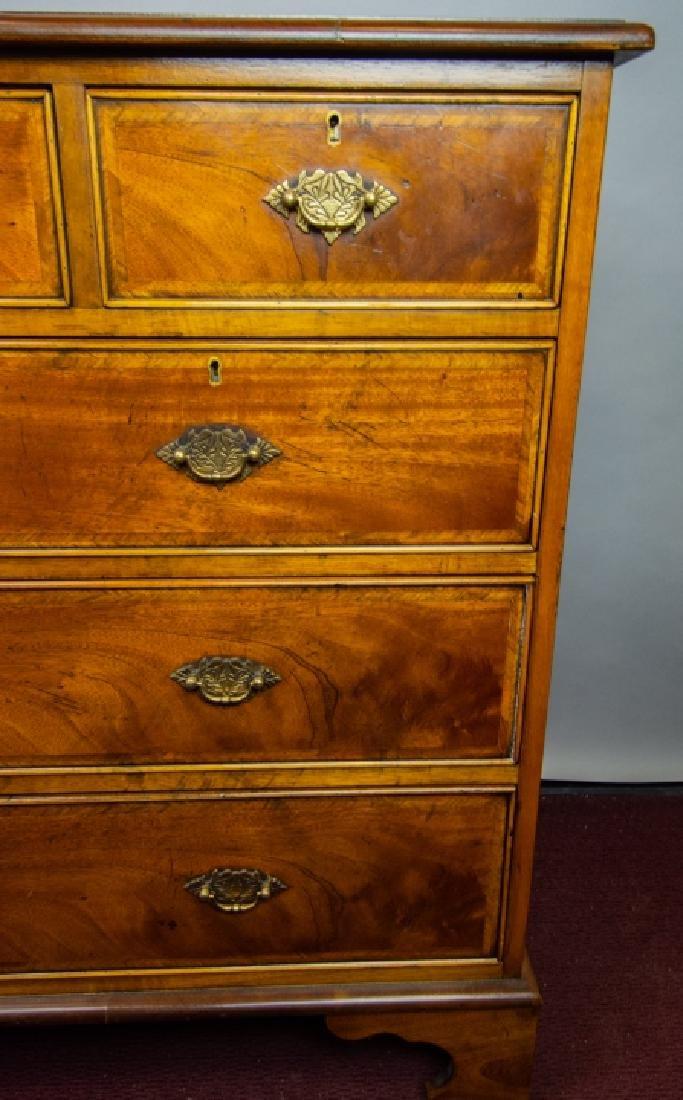 Queen Anne Style 7 Drawer Bureau / Dresser - 4