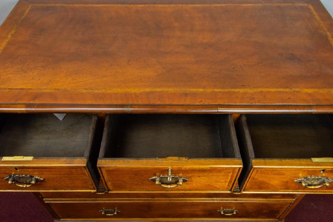 Queen Anne Style 7 Drawer Bureau / Dresser - 5