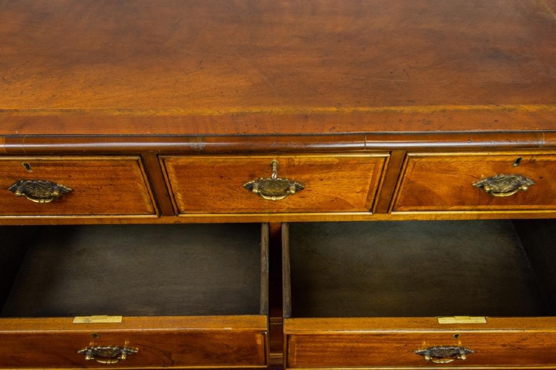 Queen Anne Style 7 Drawer Bureau / Dresser - 6