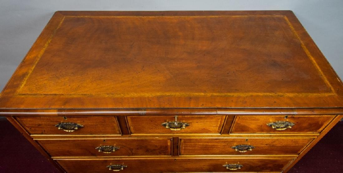 Queen Anne Style 7 Drawer Bureau / Dresser - 9