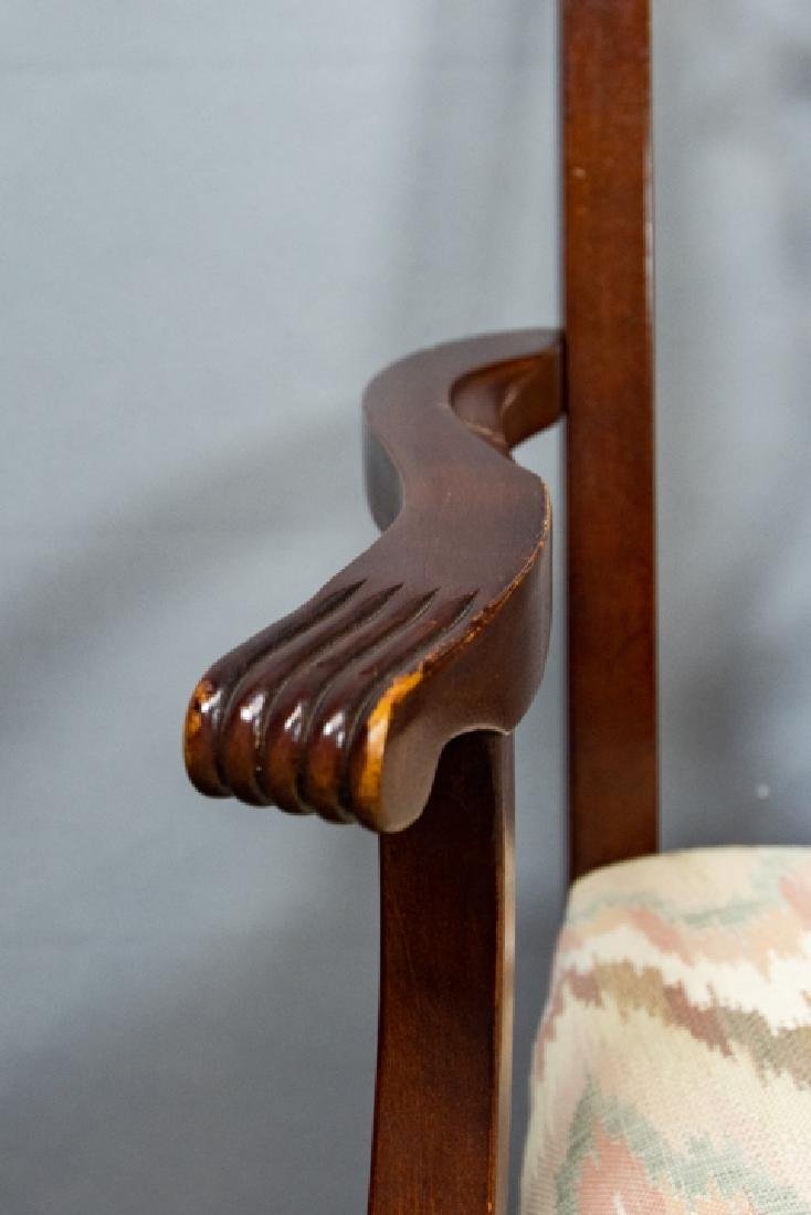 8 Bernhardt Chippendale Style Dining Chairs - 7