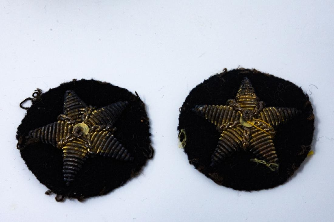 WWI / II Military Apparel Buttons and Patches - 8