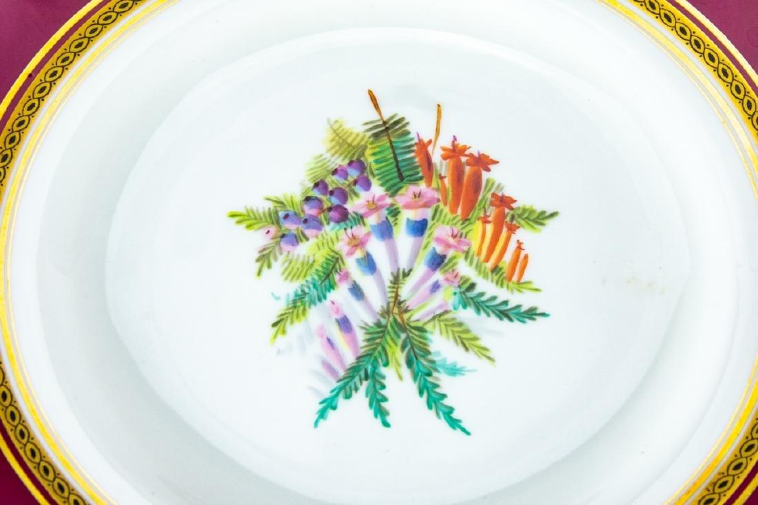 Antique Minton 4 Cake Stands + 11 Plates - 3